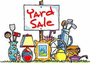 2018 Yard Sale Fundraiser – Oct 13th