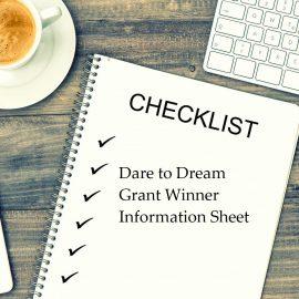 Dare to Dream Grant Information Sheet