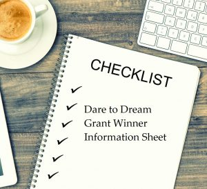 2020 Dare to Dream Grantee Information Sheet