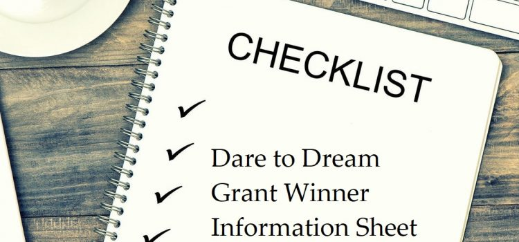 Dare to Dream Grant Information Sheet