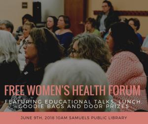 women's health forum 2018