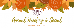 NEW DATE & LOCATION- Annual Meeting & Social