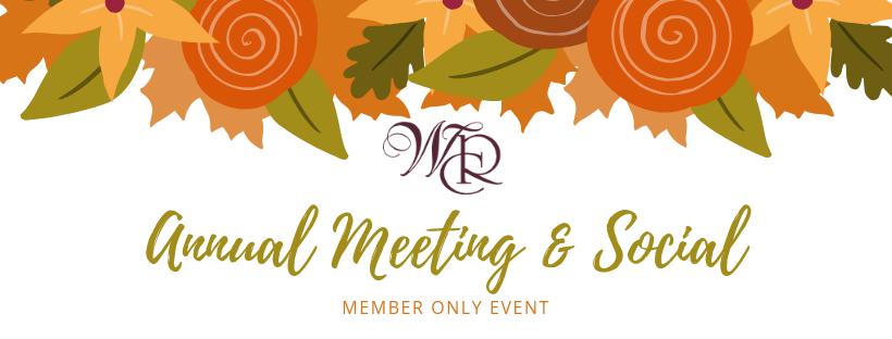 Annual Meeting & Social