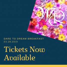 DARE TO DREAM BREAKFAST 2019