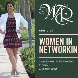 April 24 – Women In Networking