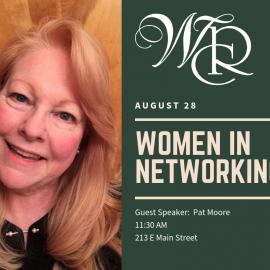 August 28 – Women In Networking