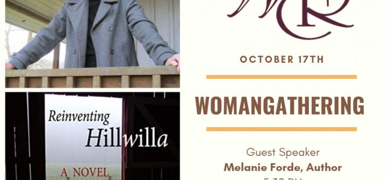 Oct 17 – WomanGathering