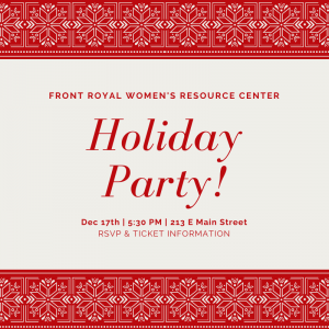 2019 Holiday Party – December 17th