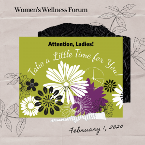 Women's Wellness Forum – February 1, 2020