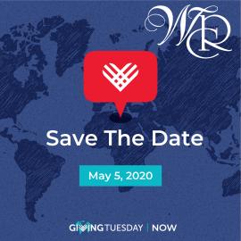 #GIVINGTUESDAYNOW – May 5