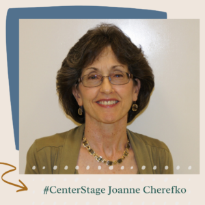 Center Stage Joanne Cherefko