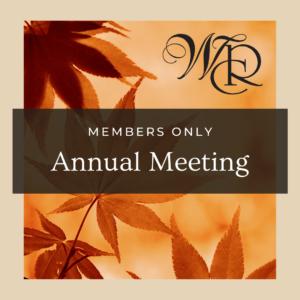 2020 Members Annual Meeting