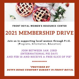 2021 Annual Membership Drive