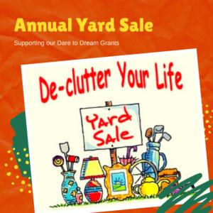 2021 Annual Yard Sale
